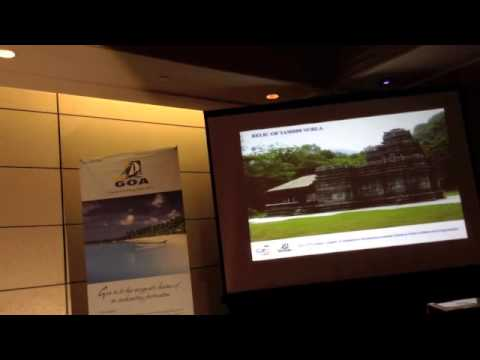 Goa Tourism Roadshow 2013 Video