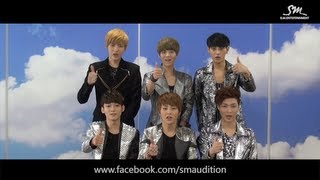 S.M.Entertainment Audition Official Facebook Page OPEN!_EXO-M Clip