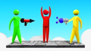STICK FIGHT + GANG BEASTS = THIS GAME! (Super Smash)