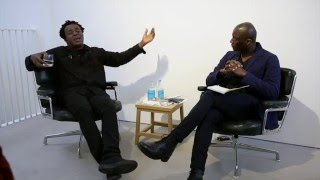 Lisson Gallery weekend talk: John Akomfrah and Ekow Eshun