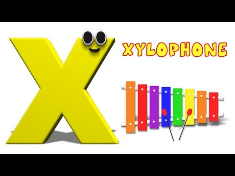 Phonics Letter- X song Kids Tv Nursery Rhymes S01EP194