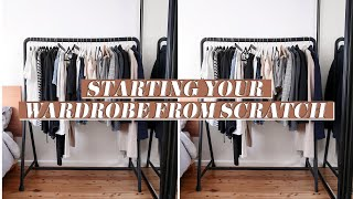 Starting Your Wardrobe From Scratch: How to Create a Minimal Closet [BASICS 101] | Mademoiselle