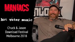Hot Water Music at Download Festival Melbourne 2018.
