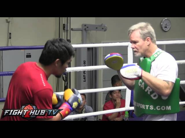 Manny Pacquiao vs. Brandon Rios: Pacquiao looking sharp 3 days before fight