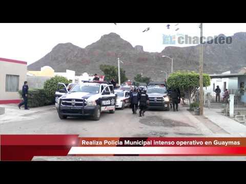 Detienen a 16 personas en operativo policiaco