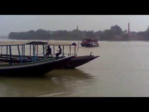 Famoust Ganga River Ghat In Bengal video