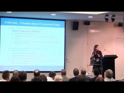 Mary Goodwin, Chief Procurement Officer - Qld Govt, Partners in Technology 9 May 2013