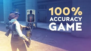 100% ACCURACY GAME! - IS THIS GLITCHED OR WORLD RECORD? (Fortnite Battle Royale)
