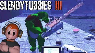 DIPSY GETS REALLY TICKED OFF!! | SLENDYTUBBIES 3 - THE CUSTARD FACILITY - COLLECT MODE - 25