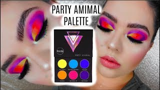 LAURA LEE PARTY ANIMAL MAKEUP PALETTE REVIEW