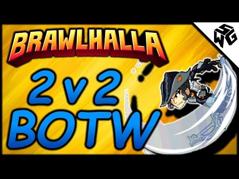 2v2 Brawl of the Week! - Brawlhalla Gameplay :: Munchin Some Newbs!!
