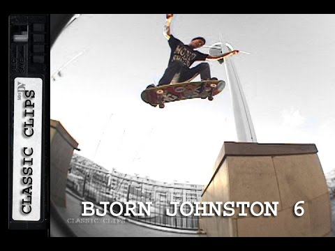 Bjorn Johnston Skateboarding Classic Clips #254 Part 6