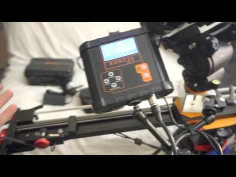 Awesome Konova 'Smart Motion Controller' time lapse system - First look