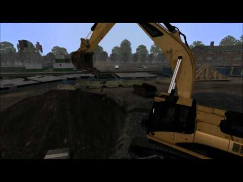Vortex - Excavator simulation with dynamic terrain and digging in virtual soil
