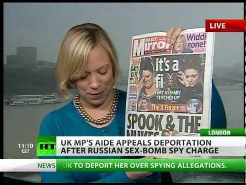 Bond Age: Fresh Russian 'sex Bomb' Spy Scandal Grips Uk Media video