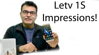 Letv Le 1S India Hands On Impressions