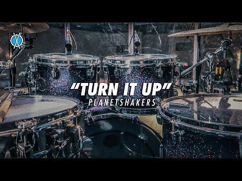 Turn It Up Drum Cover // Planetshakers // Daniel Bernard thumbnail