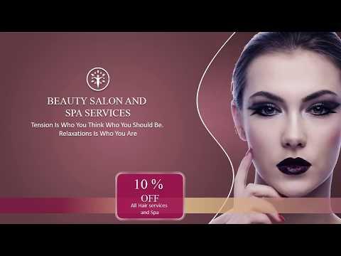 Jasa Video Promosi - Salon Kecantikan video template