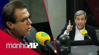 Luiz Marinho ataca comentarista Jovem Pan Marco Antonio Villa