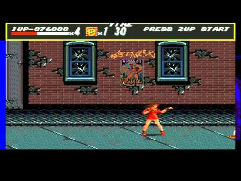 Let's Play Streets Of Rage #1 - Big Booty Bitch Blaze video