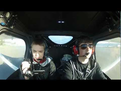 Fun Flight in a Cessna 162 Skycatcher with Cockpit Audio