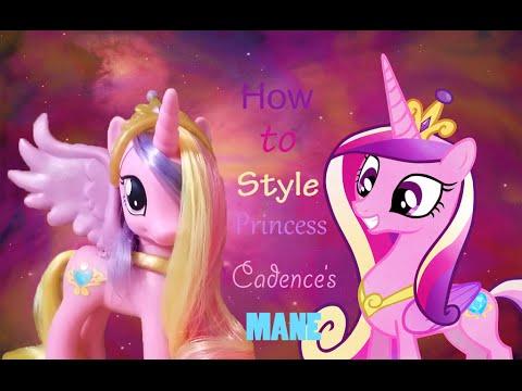 Как сделать прическу для принцессы каденс