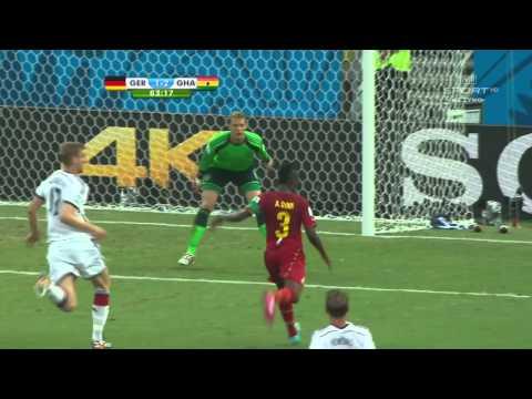 World Cup 2014 Group G Germany vs Ghana 2014 All Goals/Niemcy - Ghana