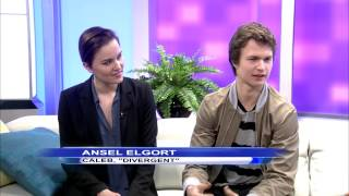 Veronica Roth & Ansel Elgort Talk Divergent