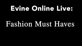 Online Live: Fashion