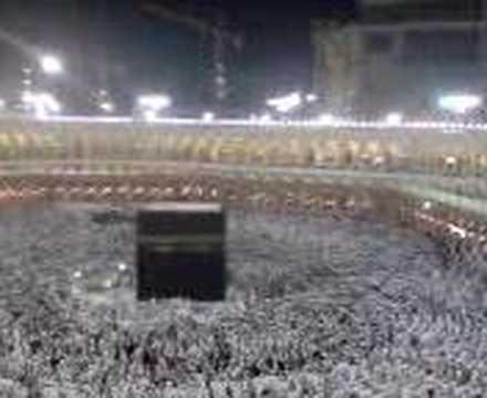 FAJR ATHAN FROM MAKKAHأذان الفجر ,مكة .