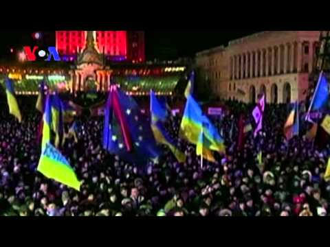 Ukraine Unrest: Police vs. Protesters (On Assignment Dec 6)