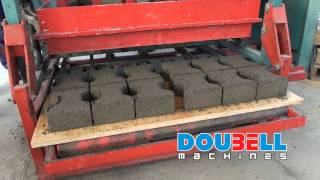 Doubell Jumbo MK3 Static Brick-making Machine