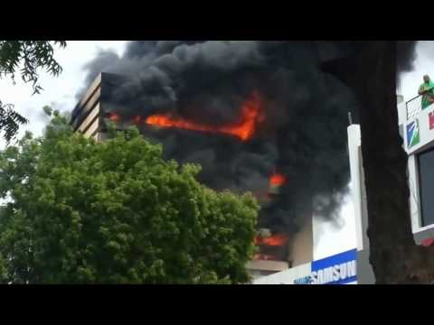 Massive fire at Surat textile market, Rs 100 crore loss estimated