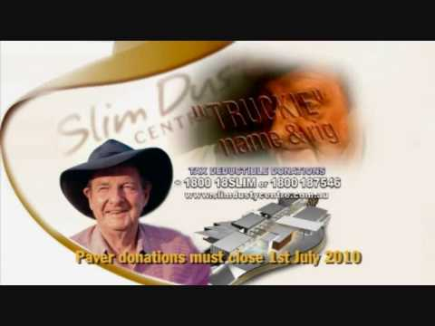 Slim Dusty Centre Truckies Paver Ad.wmv