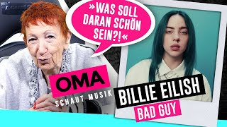 Oma schaut Musik - Billie Eilish (Bad Guy)