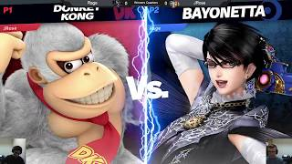 [USK6] Winners Quarters - JRose (Donkey Kong) vs Rage (Bayonetta) - Smash Ultimate