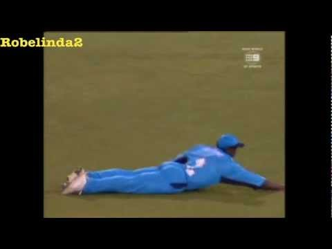 Funniest fielding in cricket, hilarious Mark Alleyne England fail!