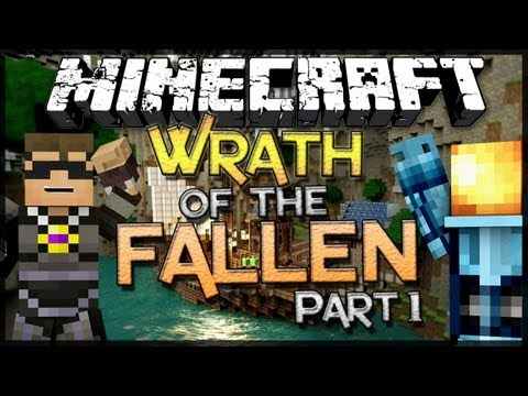 Minecraft: Wrath of the Fallen w SkyDoesMinecraft Part 1