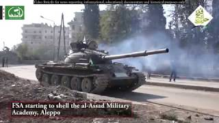 Syria War - Battle of Aleppo - Fierce Fighting and Firefights Between Rebels and SAA