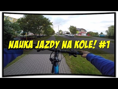 Nauka Jazdy Na Jednym Kole / How To Wheelie On Bike! #1