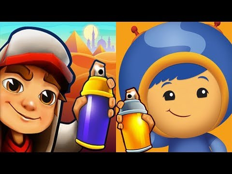 Subway Surfers vs Team UmiZoomi Math Racer - Gameplay Walkthrough Part 12 (iOS, Android)