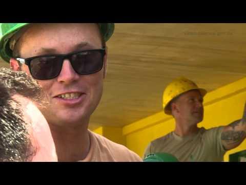 Australian Army Engineers Rebuild Elementary School Damaged in Cyclone Haiyan