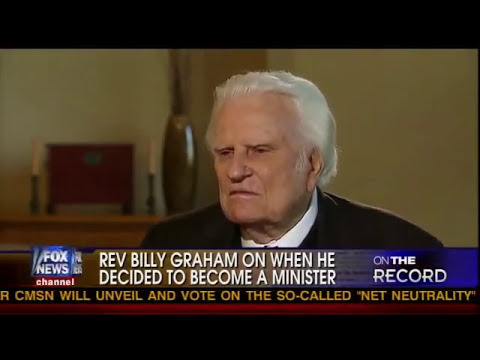 Rev. Billy Graham at age 92 interviewed by Greta Van Susteren