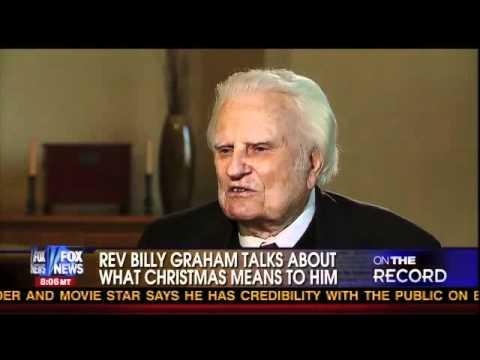Rev. Billy Graham at age 92 interviewed by Greta Van Susteren