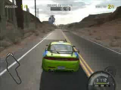 FAST AND FURIOUS - MITSUBISHI ECLIPSE - NFS PRO STREET