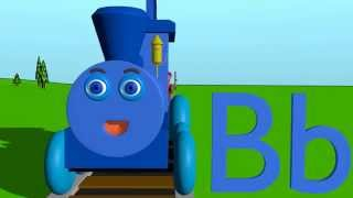 The Letter B Phonics Train