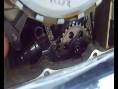 Honda VT 750 Shadow Aero C5 slack chain oil pump