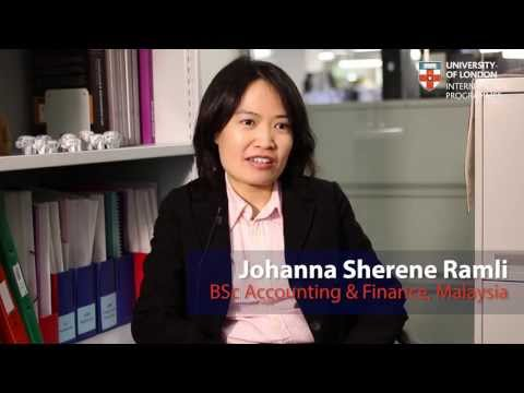 Alumni Inspiration: Johanna Sherene Ramli, BSc Accounting & Finance, Malaysia (short version)