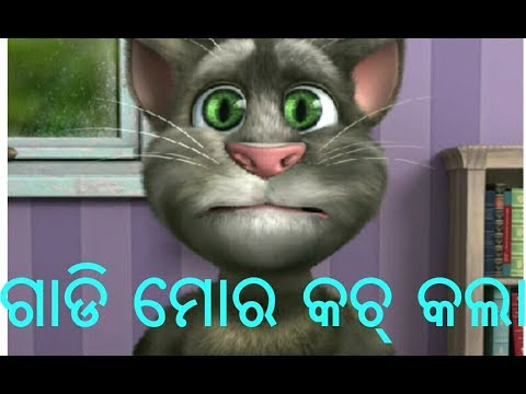 Odia cartoon comedy video, ODIA PRANK TV, odia funny video, toking tom comedy video odia