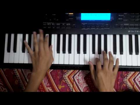 Lag Ja Gale Piano Tutorial With Full Chord Pattern